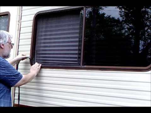 Installing Galzing Bead On Rv Youtube