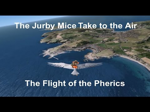 The Jurby Mice Take to the Air