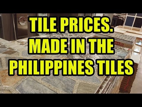 Tile Prices. Made In The Philippines Tiles.