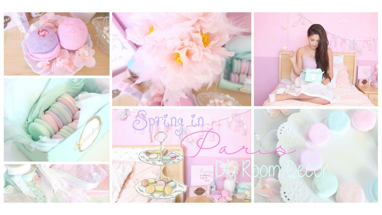 Spring In Paris Diy Room Decor Y