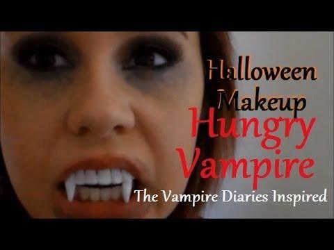 Halloween Makeup Tutorial♡Hungry Vampire(Inspired by The Vampire ...