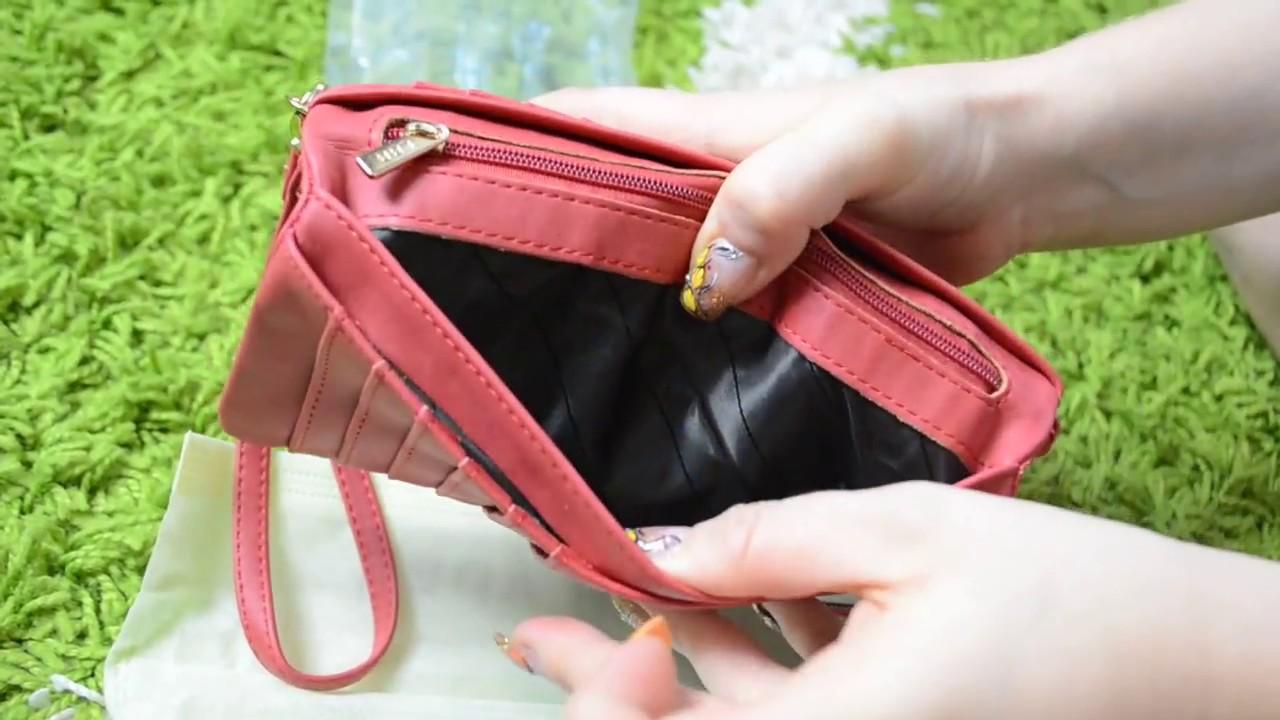 Топ5 женский кошелек - YouTube