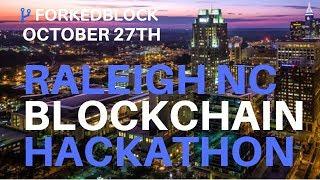 ForkedBlock Blockchain Hackathon - Raleigh OCT. 27TH