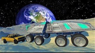 Мультфильмы 2017 про #машинки - #Эксперименты на Луне| Самые Новые #Мультики для мальчиков 2017 года