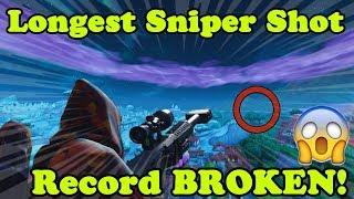 Longest Sniper Shot in Fortnite WORLD RECORD