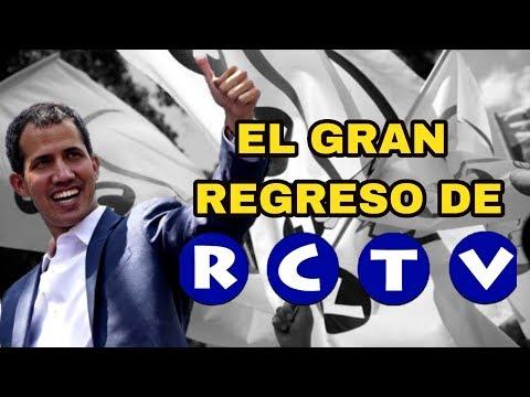 ¿Cuando regrasará RCTV?