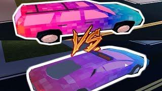 THE NEW SUV VS. LAMBORGHINI IN ROBLOX JAILBREAK!!! (you will be suprised who won!)