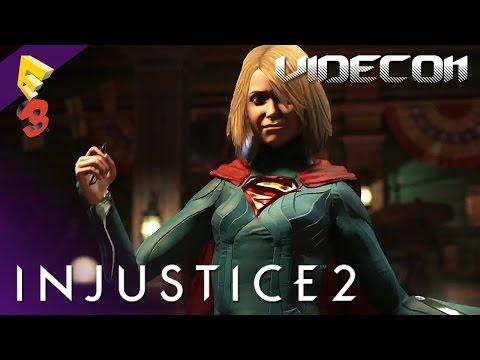 Injustice 2: Gameplay Trailer Oficial E3 2016 (Español)