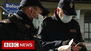 Coronavirus: Italy in lockdown - BBC News