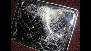 New iPad 3 Drop Test On Cement (3rd Generation Model)