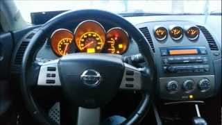 2006 Nissan Altima SER Start up, Rev, Exhaust, Custom Paint job FRONT