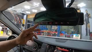 BMW 520D 레드타입 듀얼하이패스룸미러 설치한 영상…