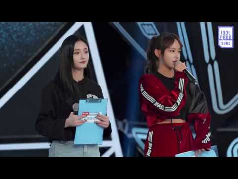 [ENG] 180123 Idol Producer EP2 Preview - Chengxiao & Jieqiong Demonstrate Theme Song's Dance