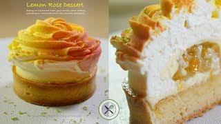 Lemon Rose Tart –Bruno Albouze –THE REAL DEAL