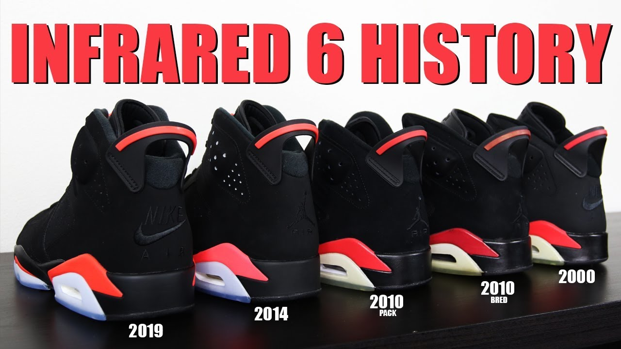 a561be71ca6440 AIR JORDAN 6 INFRARED 2019 REVIEW   HISTORY - YouTube