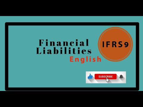 IFRS 9 Financial liability