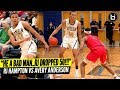 """HE A BAD MAN..RJ DROPPED 50PTS!"" RJ Hampton VS Avery Anderson Ballislife Highlights"