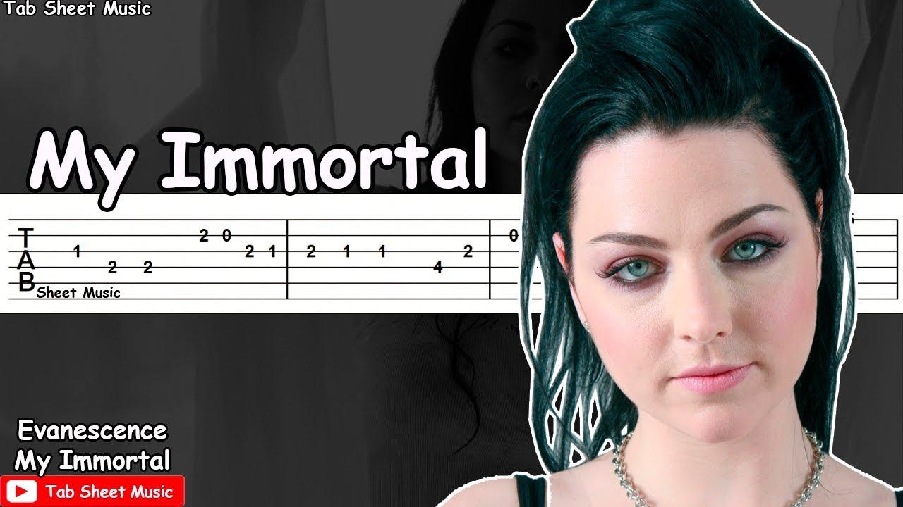 My immortal evanescence piano tutorial youtube.