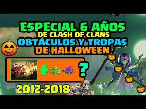 Ultra ESPECIAL 6 AÑOS: Todos los Obstáculos de Halloween en Clash of TA-84