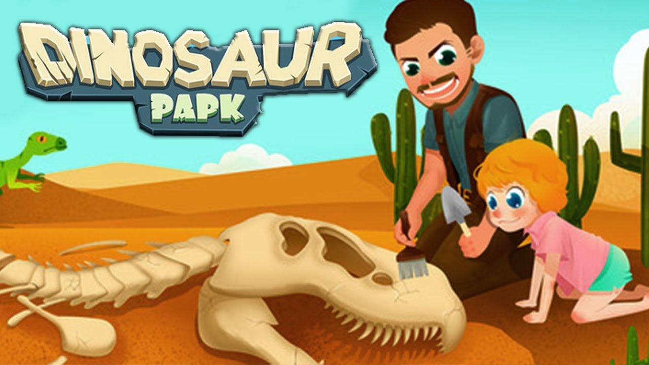 Dinosaur Park Jurassic Dino Adventure | Puzzle iPad App Game For ...