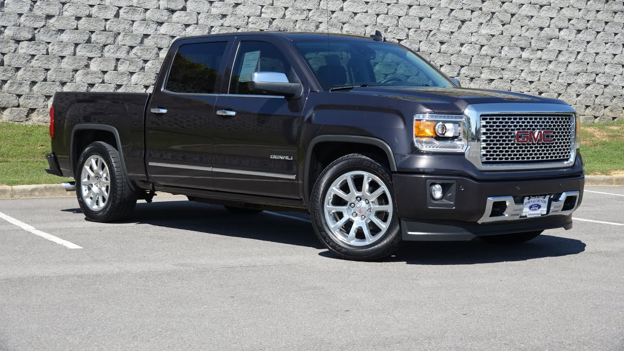 2015 gmc sierra 1500 denali walkaround review youtube. Black Bedroom Furniture Sets. Home Design Ideas