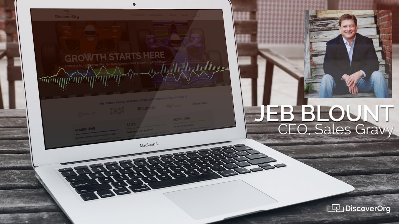 Sales Intelligence Tools - Recommendation by Jeb Blount