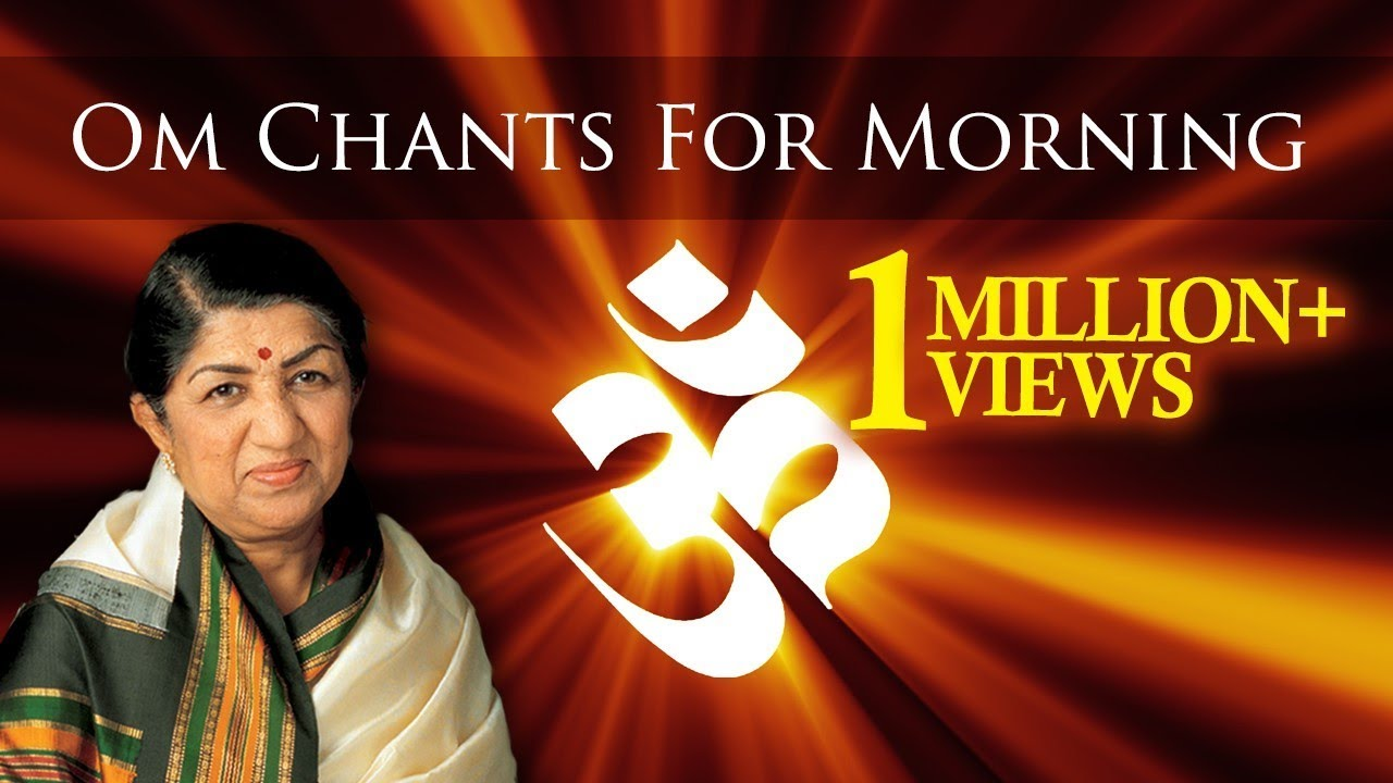 Om Chant For Morning Meditation | Lata Mangeshkar | Pandit Ronu Majumdar |  Times Music Spiritual