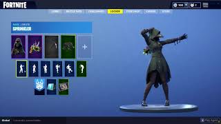 NEW FORTNITE SCOURGE SKIN & SPRINKLER DANCE! HALLOWEEN!