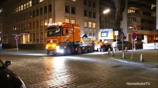Rolf Riedel MB 4163 Actros SLT Titan, Transport CAT 349 E UHD TIRS