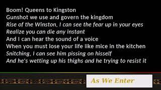 Nas & Damian Marley - As We Enter [Lyrics]
