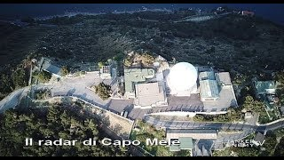 Il radar di Capo Mele ad Andora (Savona)