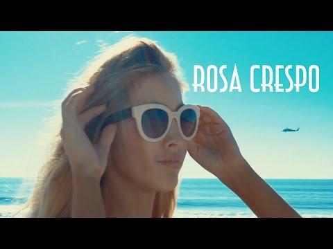 Fashion Influencer Rosa Crespo (@rosacrespo) - Santa Monica Beach Instagram Photoshoot