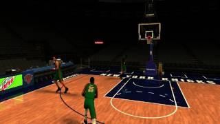 NBA 2K17 Derrick Rose practice (low graphics)