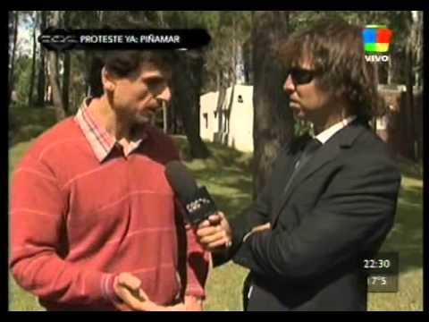 Las agresiones a 'Gonzalito' de CQC por funcionarios de Pinamar