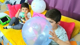 Didi and Malek play with ANIMAL Colors Balloons |  Funny Video for Kids by Didi Funny Stories