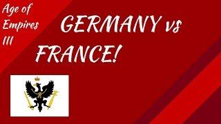 Germany vs France! AoE III