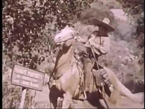 Cisco Kid Railroad Land Rush FULL LENGTH EPISODE