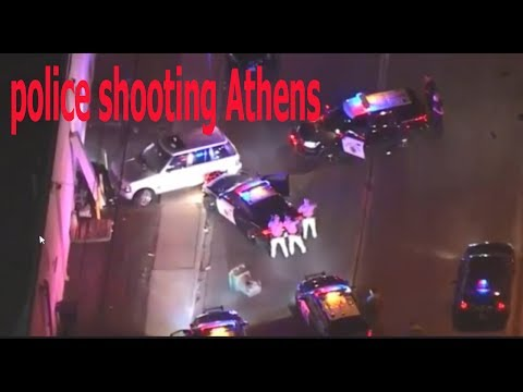 Shooting In Athens, Georgia, police cops 2017