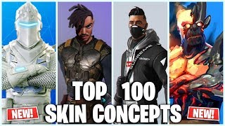 FORTNITE SKIN CONCEPTS YOU MUST SEE (SNOWFALL PRISONER SKIN STAGE 4 ~ STAGE 5, WHITE KNIGHT) LEAKED!