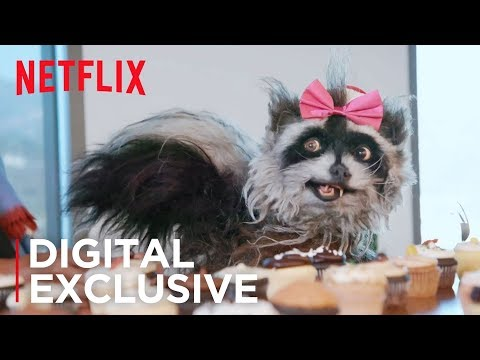 Rose Spreads Holiday Cheer at Netflix | The Curious Creations of Christine McConnell | Netflix