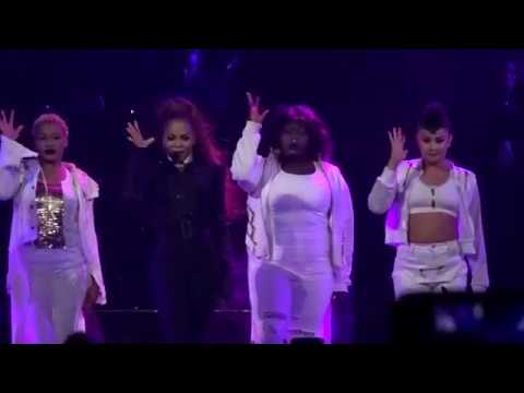 Janet Jackson - Control Medley - State Of The World Tour - Barclays Center NY - 15th of Nov 2017