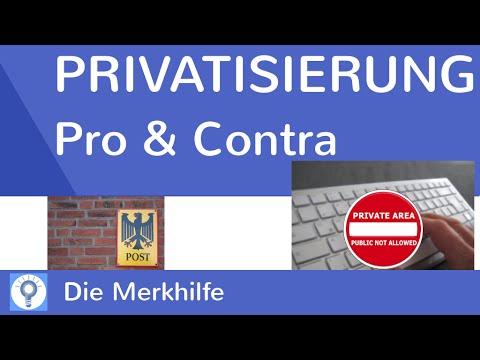 Privatisierung öffentlicher Güter - Pro & Contra | WirtschaftBasics 32