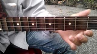 Hướng dẫn guitar bài Phi Vân Điệp Khúc - Dây đào