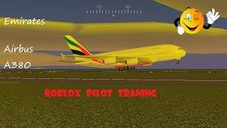Roblox/ Pilot Traning Emirates A380