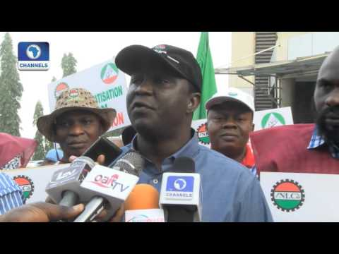 Labour Union In Nationwide Protest Over Electricity Tariff Increase - 08/02/16