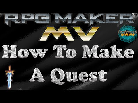 RPG Maker MV Tutorial How To Make A Quest