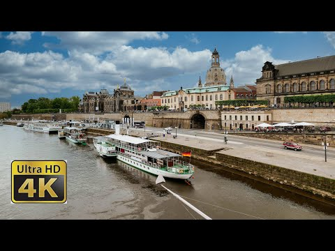 dresden altstadt - amazing 4k video UHD