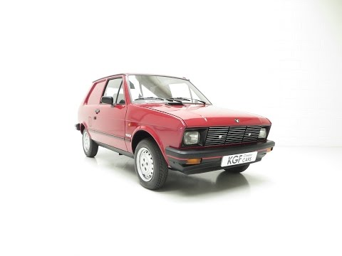 An Extremely Rare Yugo Zastava 55A Van with an Incredible 14,780 Miles from New - SOLD!