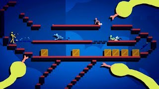 SNAKES on a PLANE! - Best Stickfight Maps! - Stick Fight Custom Maps Multiplayer
