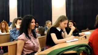 Мастер-класс Александра Анфёрова в Университете Кино и Телевидения.